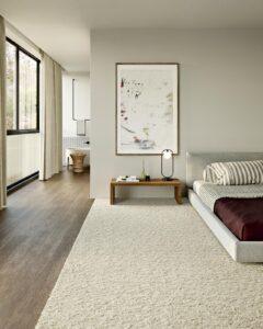 Dormitorio con alfombra Santos Monteiro Very Nice 01