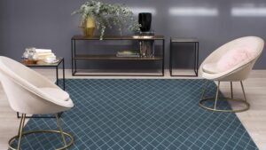 Salón con alfombra KP