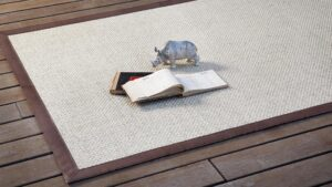 Detalle de alfombra KP Oni