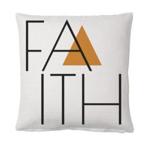 Cojín Faith de Sisomdos