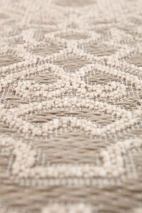 Detalle alfombra Adi Vivaraise