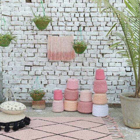 Ambiente alfombra BEreber Vintage Nude Lorena Canals